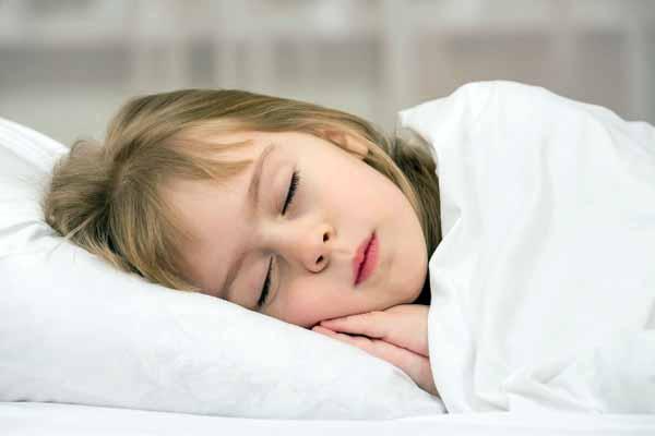 дети, спать, день
