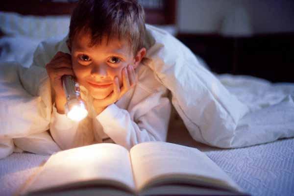 постель, читать