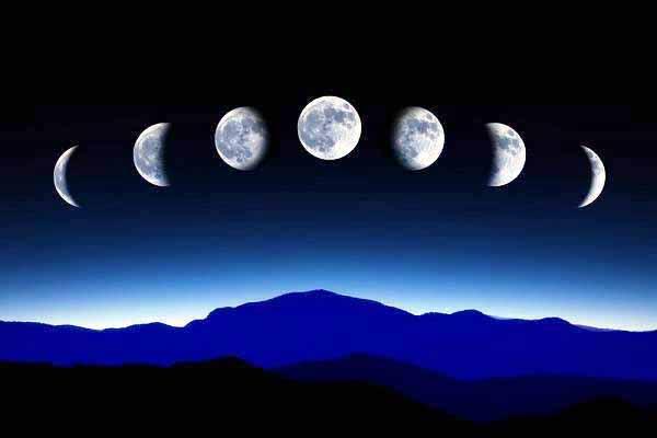 луна, почему, название, месяц