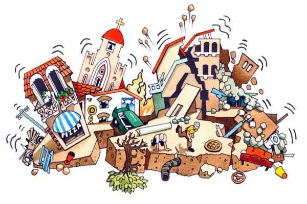 землетрясения, происходят, почему