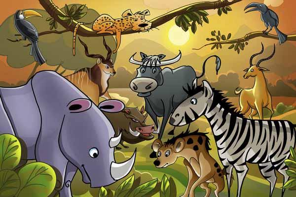 животные, названия