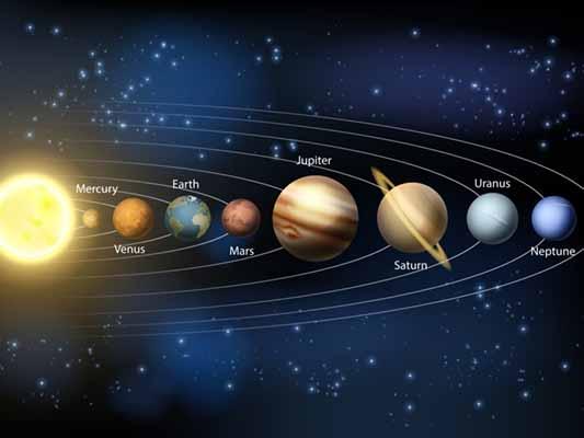 планеты, другие, небо, цвет