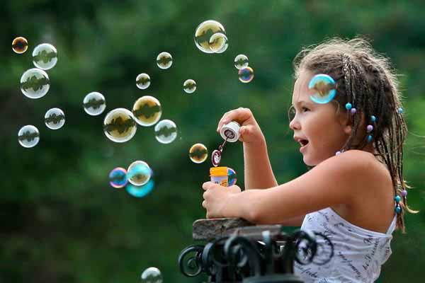 мыло, пузыри, получаются