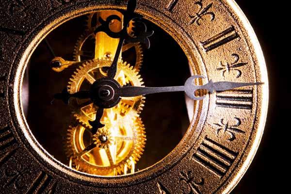 часы, тикает
