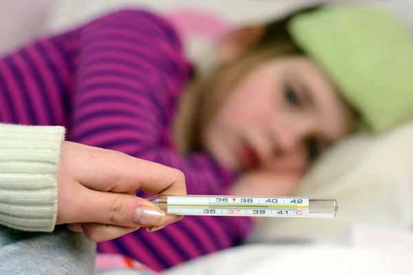 болезнь, температура, повышение