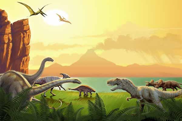 динозавры, исчезли, почему