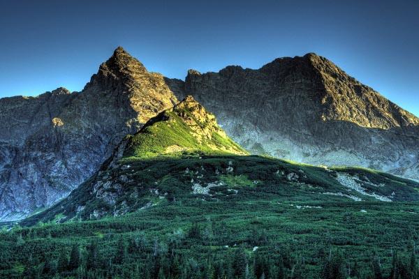 горы, откуда, берутся