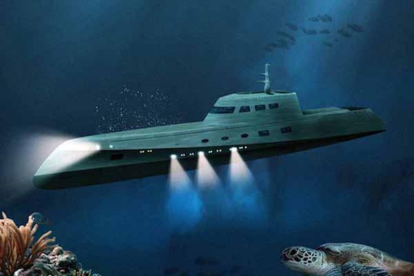 лодка, подводная, перевернуться
