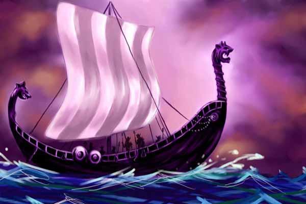 викинги, корабли, драконы