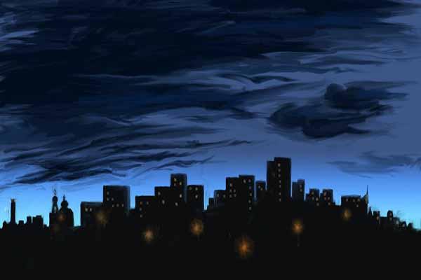ночь, темно, почему