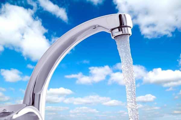 вода, кран, попадать